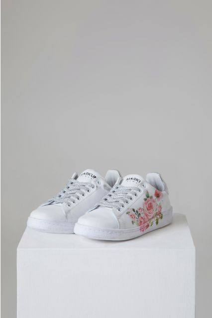 SNEAKERS STAMPA FLOREALE