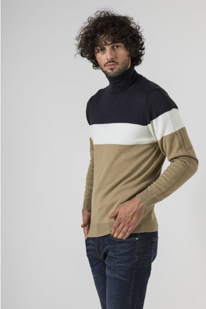 PULLOVER COLOR BLOCK