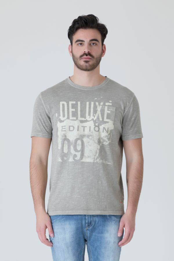 T-SHIRT STAMPA DELUXE