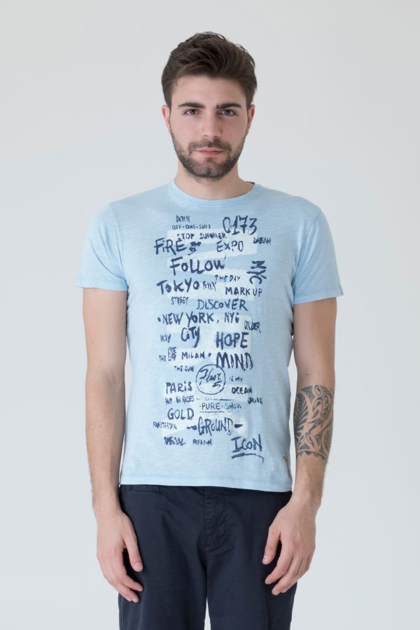 T-SHIRT STAMPA CENTRALE