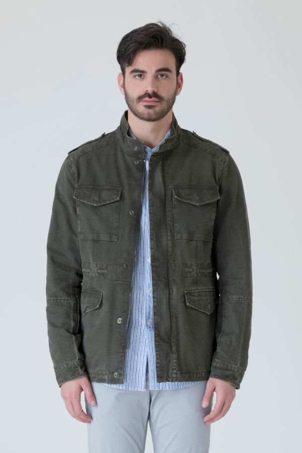 FIELD JACKET IN CANVAS